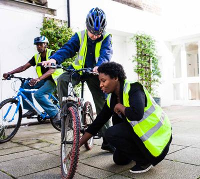 Simone and Bike Freedom