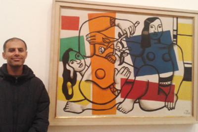 Art group trip to Tate Modern